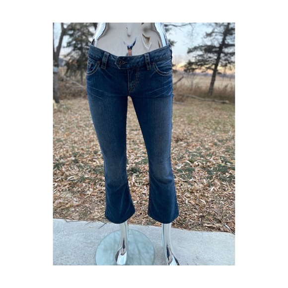 Silver Jeans Low Rise Boot Cut TUESDAY Hemmed Y2K